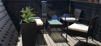 Single-Zelt-Appartement-Dachterrasse